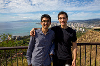 Thanh Le & Daniel Rabottini at Diamond Head